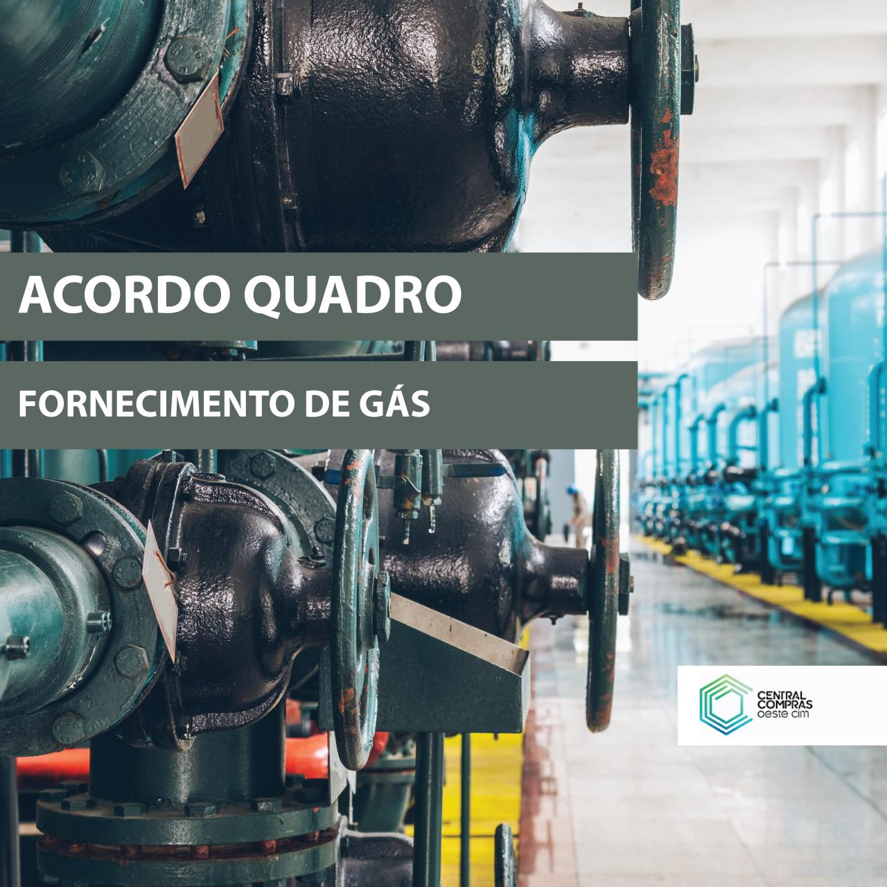 Acordo-Quadro para o Fornecimento de Gás